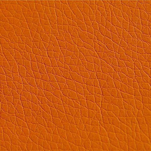 Mostră piele ecologică - culoarea orange
