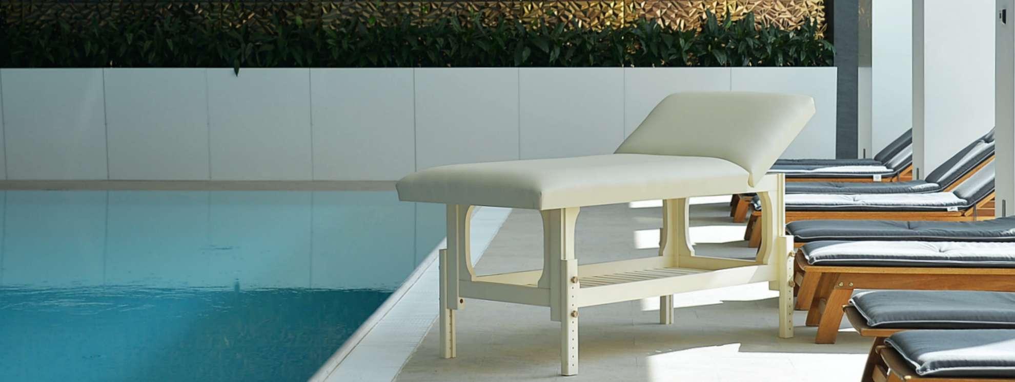 Masa de masaj staţionară, model Lotus