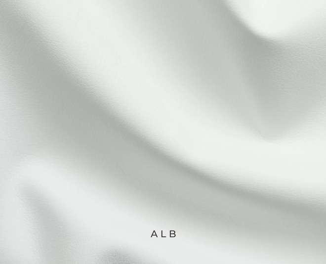 Mostră piele ecologică culoare alb